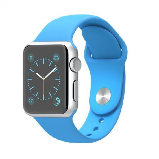 Apple Watch Sport 38 mm blauw