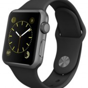 Apple Watch Sport 38mm zwart