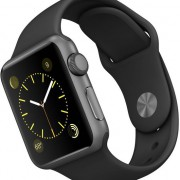 Apple Watch Sport 38mm zwart-2