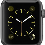 Apple Watch Sport 38mm zwart-4