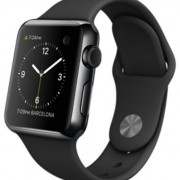 Apple Watch Sport 38mm zwart stainless steel