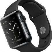 Apple Watch Sport 38mm zwart stainless steel-2